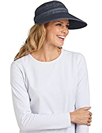 Coolibar Zip Off Visor UPF 50 Plus - Sombrero para mujer