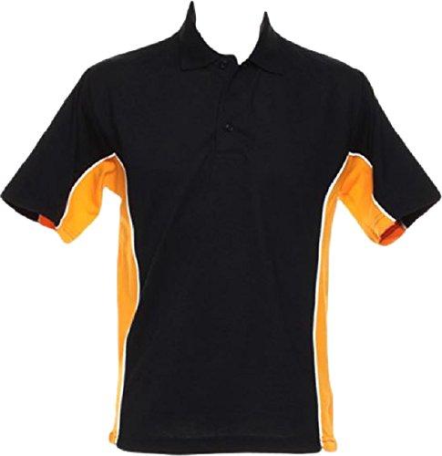 Gamegear® Spur Polo orange/ Graphite/ weiß