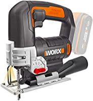WORX 20V 24mm Jigsaw, bare tool, color box no battery and charger included