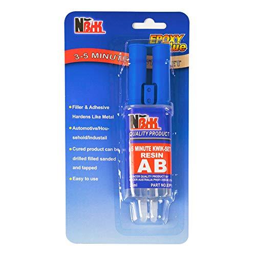 XUDOAI 2-Komponenten Epoxidharz-Kleber,Doppelkammerspritze,Hohe Viskosität und Sofortige Reparatur Holz, Kunststoff, Glas, 25ml