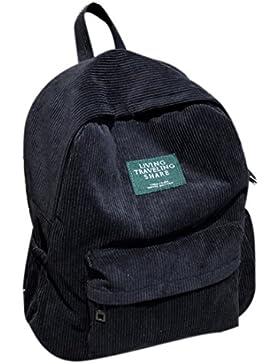 FOKOM Kord Casual Rucksack Daypack Rucksackhandtasche Laptoprucksack