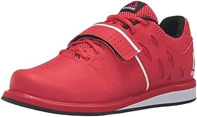 Reebok Men's Lifter Pr Cross-Trainer Shoe, Primal Red/Black/White, 11. 5 M US