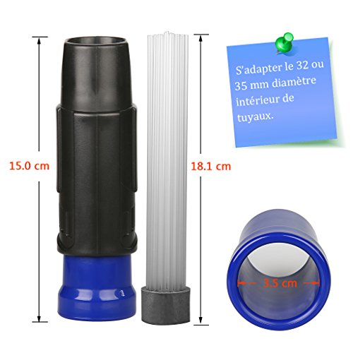 Zoom IMG-1 testina universale per aspirapolvere dust