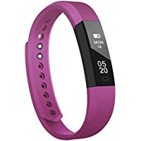 Fitness Tracker,Smart Bracelet RobotsDeal ID115 Bluetooth Call Remind Remote Self-Timer Smart Watch Activity Tracker Calorie Counter Wireless Pedometer Sport Band Sleep Monitor