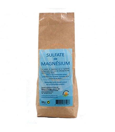 Sulfate de Magnesium / Sels d'Epsom