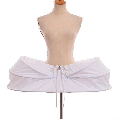 GRACEART Elisabeth Rokoko Kleid Pannier Krinoline Band (Kleid Kostüm Marie Antoinette)