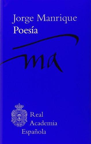 Poesía (Clásicos) por Jorge Manrique