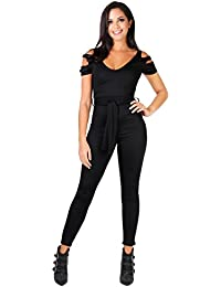 df59c7bd1ff1 Amazon.co.uk  Black - Jumpsuits   Playsuits   Women  Clothing