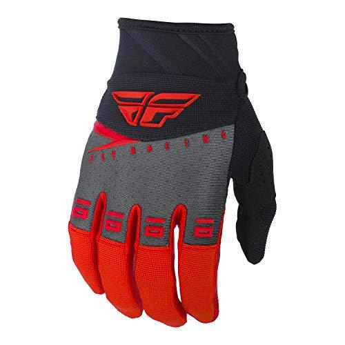 FLY Course 2019 F-16 Gants Motocross - Rouge Noir Gris, X-Large