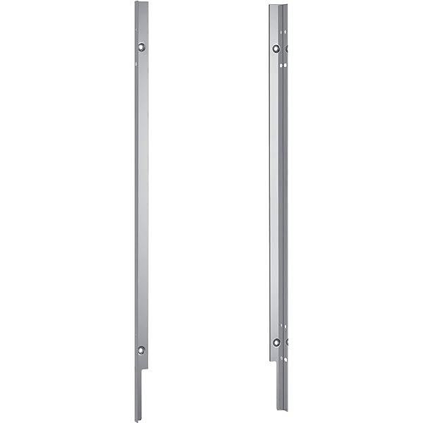 81,5cm Neff z7860x3 in acciaio inox accecati Set