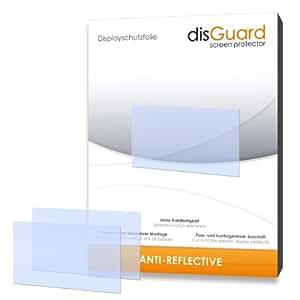 3 x disGuard Anti-Reflective Screen Protector for Panasonic Lumix DMC-LF1 / LF-1 - PREMIUM QUALITY (non-reflecting, hard-coated, bubble free application)
