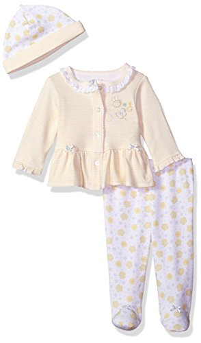 ' Cardigan and Hat Set, Bumble Bee New, 3 Months (Kid's Bumble Bee Hat)