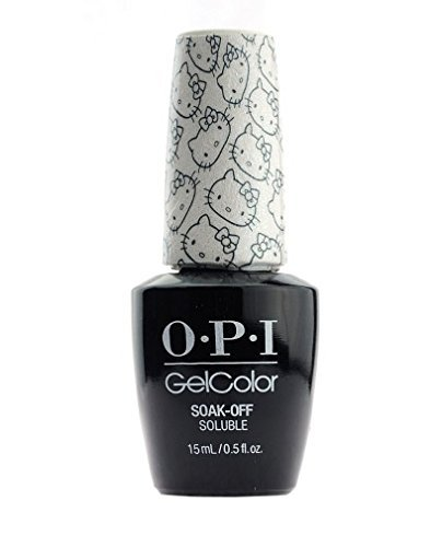 OPI Hello Kitty Gel/Gelcolor 15ml - KITTY WHITE - 2016 Exclusive