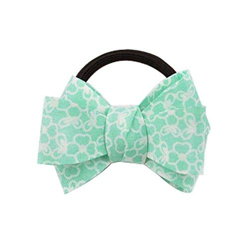 5 bandes PCS Fashion Style frais Bow Tie cheveux verts 7.5x5.5 Stripe cm