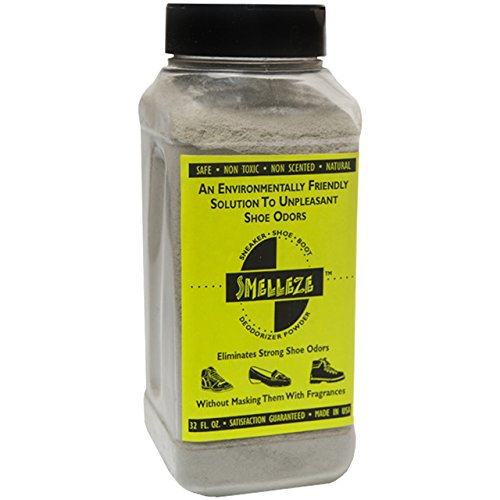IMTEK Environmental Corp. SMELLEZE Natural Schuh Geruchsentferner Parfum: 2 Lb. Stinky Stopper Powder