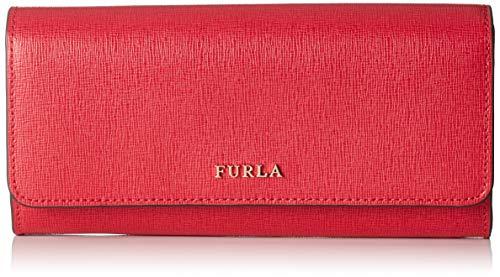 f52cd9a6ba FURLA Babylon Xl Bifold - Portafogli Donna, Rosso (Ruby), 1x10x19.5