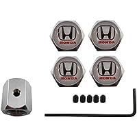 Valvulas antirobo de acero inoxidable para coche Honda blanco aut013-24
