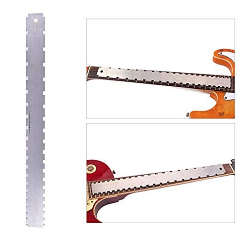 Musical Instruments Guitar Parts & Accessories Shop For Cheap Fingerboard Fretboard Radius Frets Width Gauge Ruler Guitar Bass Necke Accurate Measure Tool