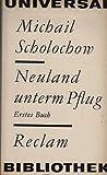 Neuland unterm Pflug erstes Buch