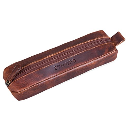 7cf745b8ab STILORD 'Leopold' Grande borsa in pelle da Insegnante Professore ...