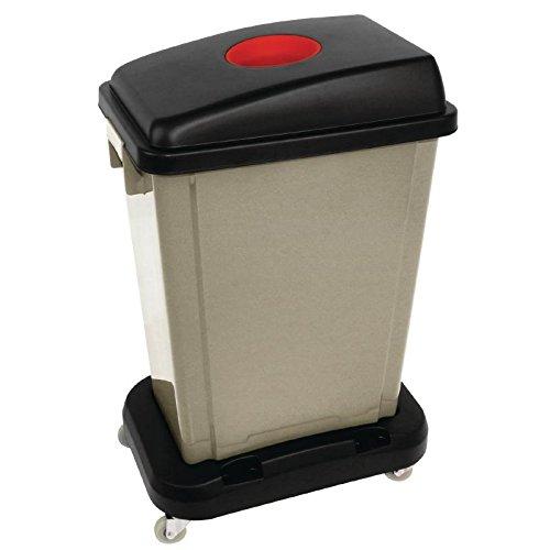 Jantex Cup Deckel rot für CK960Kunststoff Küche Wastebin Mülltonne Trash kann