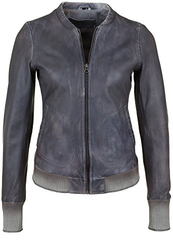 FREAKY NATION Damen Lederjacke BOMBER