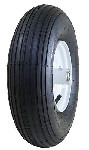 4 Pneumatische Räder (Marathon Reifen auf Rad, 4,00-15,2 cm, pneumatisch, mit Luftbefüllung, 7,6 cm Nabe, 5/8 Zoll Kugellager)