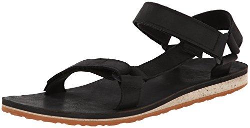 Teva Original Univ. Premium LTR M's Herren Sport- & Outdoor Sandalen, Schwarz (black 513), EU 40.5 (Fashion Sandale Leder)
