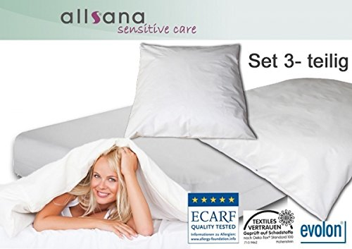 Allsana Encasing Set: 100x200x20/155x220/40x80cm