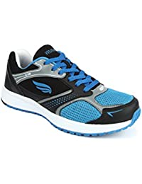 Mmojah Energy-20 Black/Blue Aster Running Shoes 7UK