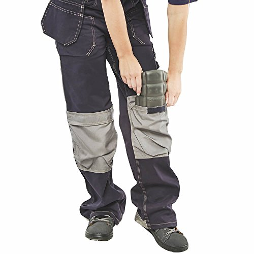 958f5999af Click Knee Protection Workwear Trouser for Men - Cordura Knee Pad Pockets  for Comfort and Protection