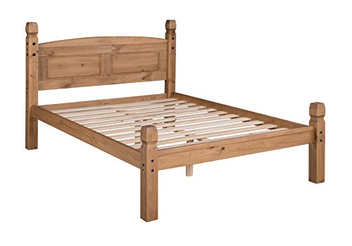 "Corona Double 4'6"" Low End Bed Frame"