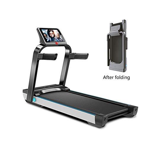 KuaiKeSport Laufband Elektrisch Klappbar für Zuhause 1-10km/h,Treadmill Mit MP3-Player,Laufband Elektrisch Mit LED-Bildschirm Sportgerät für Zuhause Belastbarkeit bis 110 kg