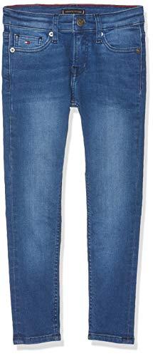Blaue Kinder-jeans (Tommy Hilfiger Jungen Simon Skinny VIMBST Jeans Blau (Ville Mid Blue Stretch 911) 164 (Herstellergröße: 14))