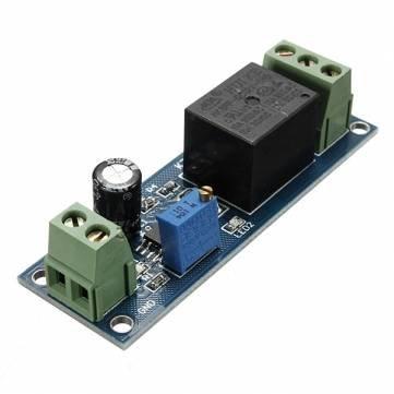 12V NE555 Oscillator Delay Timer Switch Module Einstellbar 0-10 Zweite
