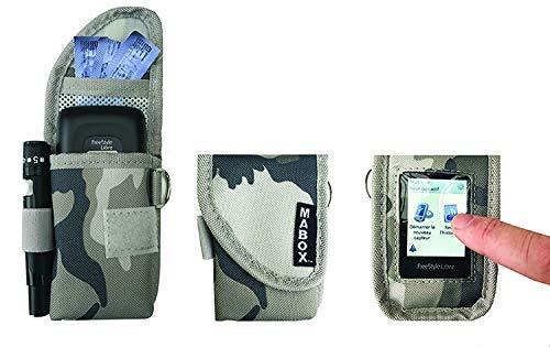 Tasche für Freestyle Freien Modell smart' Access MABOX - grüne Tarnung -