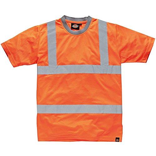Dickies Warn-T-Shirt, 1 Stück, S, orange, SA2003 OR S