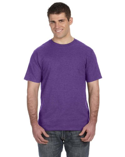 Koi auf American Apparel Fine Jersey Shirt Heather Purple