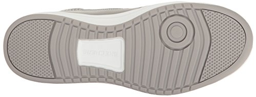 Skechers Women's Downtown-Fly High Fashion Sneaker Gray