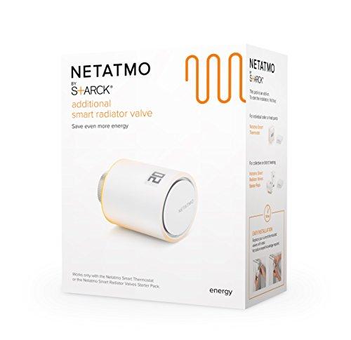 41ULSOwUqRL [Bon Plan Netatmo] Netatmo NAV-FR Vanne Connectée additionnelle pour radiateur Multicolore