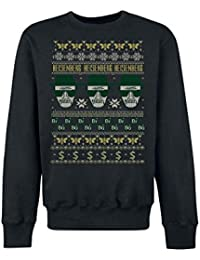 Breaking Bad Heisenberg Christmas Sweater Sweat-shirt noir