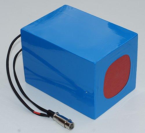 Preisvergleich Produktbild 36V 35Ah 1260Wh Akkupack Pedelec E-Bike ebike Scooter Lithium-Ionen Akku Batterie Battery mit BMS & Ladegerät