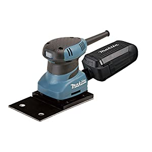 Makita BO4566 Lijadora Orbital 100Mmx164Mm, 200 W, Multicolor, 197x100mm