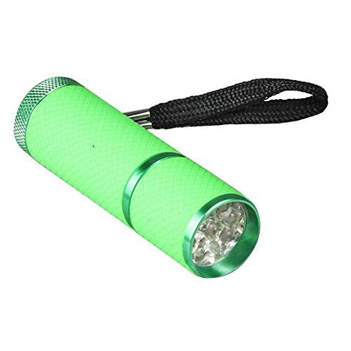 Sanwood 9 LED portable Mini lampe UV sèche Vernis à ongles gel polymérisation Outil de beauté