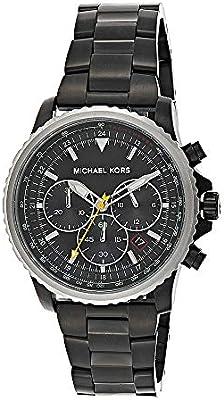 Michael Kors Reloj Cronógrafo para Hombre de Cuarzo con Correa en Acero Inoxidable MK8643