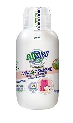 biopuro Waschmittel Konzentrat für Wolle und Kaschmir, 20Wäschen-500gr