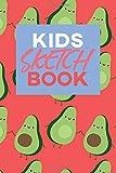Best Strathmore Kid Art Supplies - Kids Sketch Book: Kawaii Cute Avocado Vegan Food Review