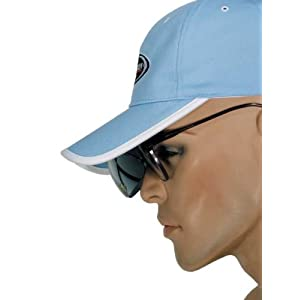 Bennington Golfcap oder Visor mit integrierter Sonnenbrille vom PGA Pro