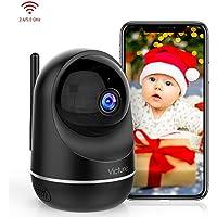 Victure Dual-Band 2.4G & 5Ghz Caméra WiFi sans Fil,1080P Caméra Surveillance WiFi,Caméra IP Intérieur avec Détéction de Mouvement, Vision Nocturne, 2 Way Audio pour Bébé, Animaux de Compagnie