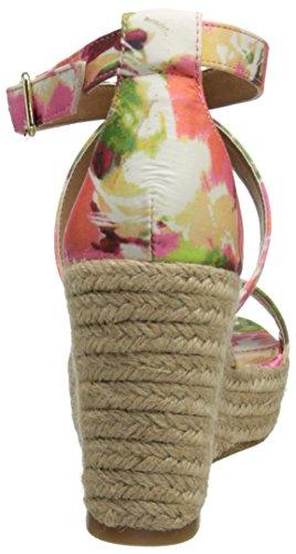 Steve Madden Women's Montaukk Espadrille Sandal Floral